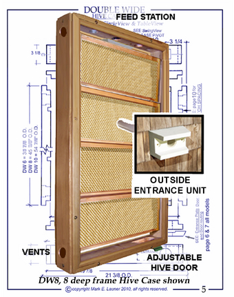 Woodwork Beesource Observation Hive Plans PDF
